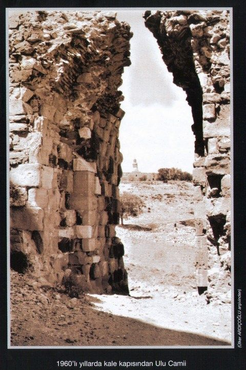harput kalesi girişi restorasyon öncesi